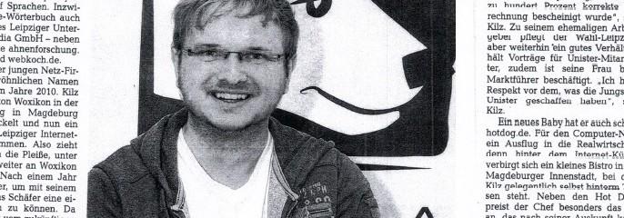 Leipziger Volkszeitung berichtet über Eisbär Media