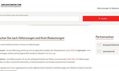 abkuerzungen.com