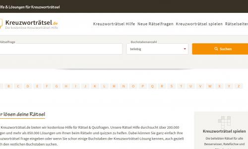 kreuzwortraetsel.de