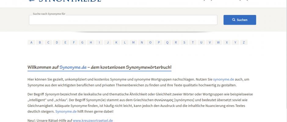 synonyme.de